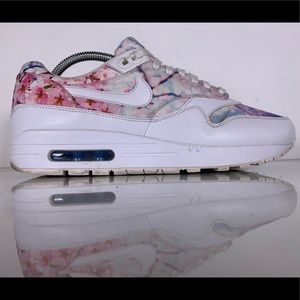 Nike Air Max 1 Print 'Cherry Blossom' Womens Sz 10